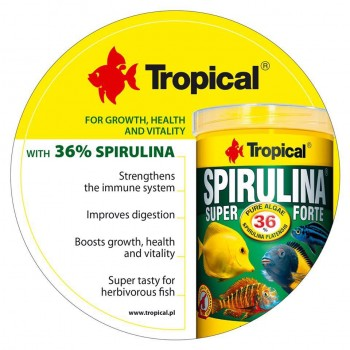 Super Spirulina Forte Tablets 250ml/150g ca.340 pieces