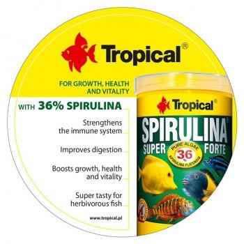 Super Spirulina Forte Flakes 21L/4kg