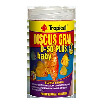 Discus Granulat D-50 Plus Baby 250ml/130g