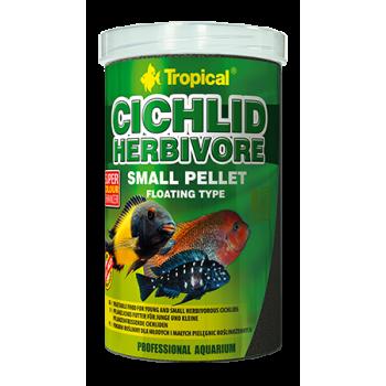 Cichlid Herbivere Small Pellet 250ml/90g