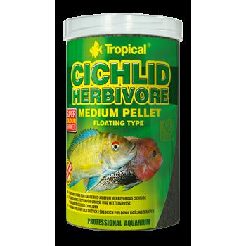 Cichlid Herbivore Medium Pellet  500ml/180g