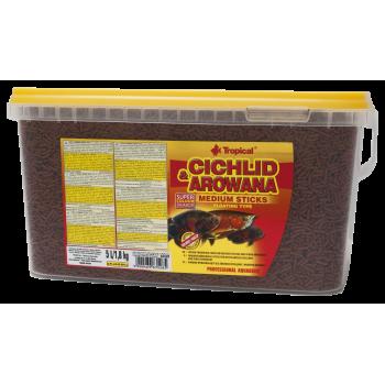 Cichlid & Arowana Medium Sticks 5l/1.8kg