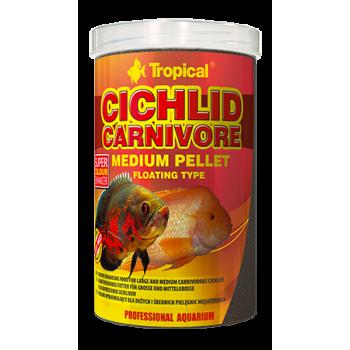 Cichlid Carnivore Medium Pellet 1000ml/360g