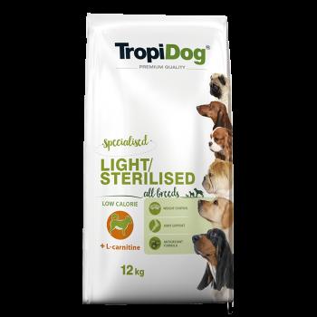 TropiDog Premium LIGHT 12kg
