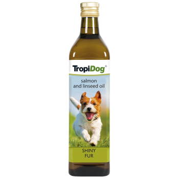 TropiDog SALMON and LINSEED oil 750ml