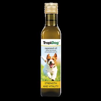 TropiDog RAPESEED oil with LINSEED & PUPKIN seed 250ml