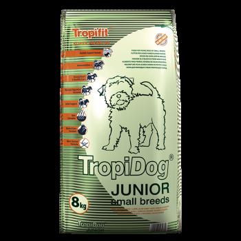 TropiDog JUNIOR Small Breeds with LAMB,SALMON & EGGS 8kg