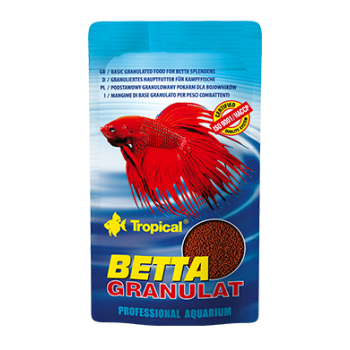 Betta granulat 10g - zip sachet