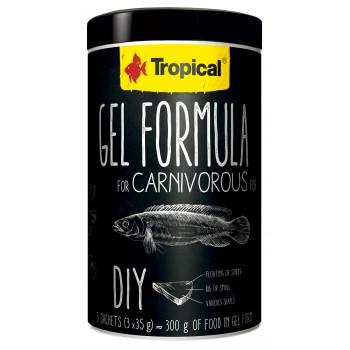 Gel Formula for Carnivous Fish 1000ml/105g (3x35g)