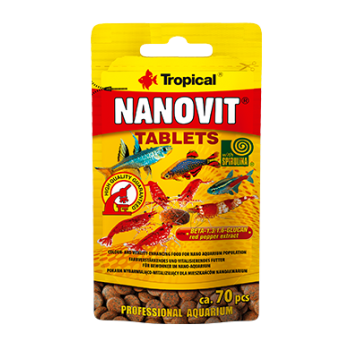 Nanovit Tablets 10g/ca. 70 pieces