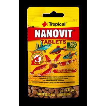 Nanovit Tablets 10g/ca. 70 pieces