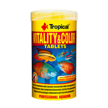 Vitality & Colour Tablets  250ml/150g ca.340 pieces