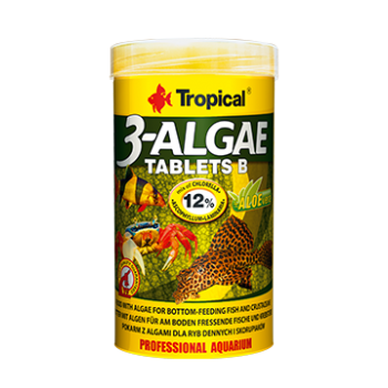 3-Algae tablets B 50ml/36g ca 200 pieces