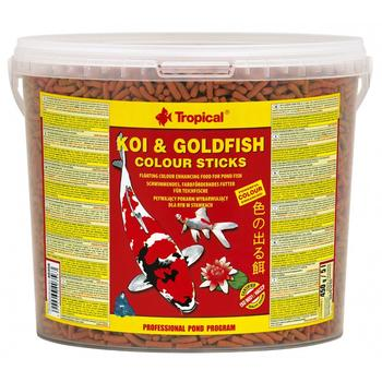 Koi & Goldfish Colour Sticks 5l/430g -bucket