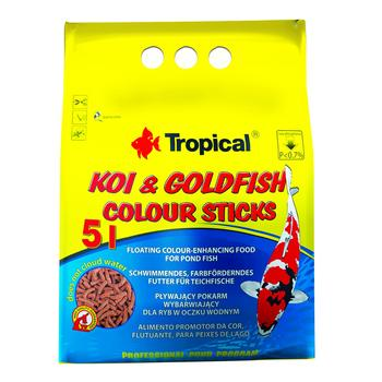 Koi & Goldfish Colour Sticks 5l/400g -bag