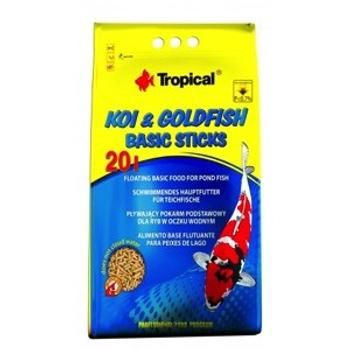 Koi & Goldfish Basic Sticks 20l/1600g -bag