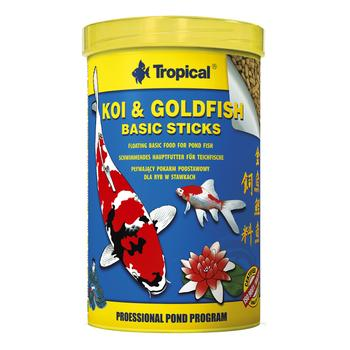 Koi & Goldfish Basic Sticks 1000/85g -tin