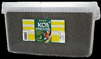 Koi Spirullina Pellet size M 10l/3,5kg -bucket