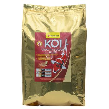 Koi Growth & Colour Pellet size M 7kg -bag