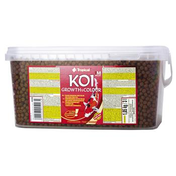 Koi Growth & Colour Pellet size M 3l/1,05kg