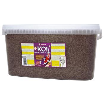 Koi Wheat Germ & Garlic Pellet size M 10l/3,5kg -bucket